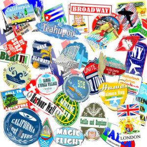 Labels, Decals, Stamps