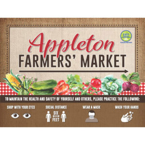 Appleton Farmers Market Sign