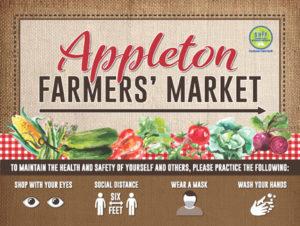 Appleton Farmers Market Sign